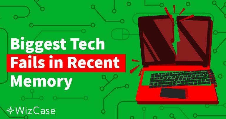 I maggiori 100 fallimenti in campo tecnologico dal 2011
